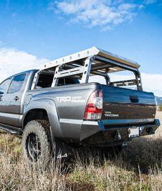 Easy bolt-on installation tubular construction Weld-together CNC laser-cut, precision fit bed rails Tacomas only) Strong enough to support heavy loads such as roof-top tents Growing list of available options and upgrades Made in the USA Top Tents, Roof Top Tent, Tacoma Bed Rack, 2015 Trucks, Roof Basket, Truck Toppers, Car Roof Racks, Truck Caps, Tacoma Truck