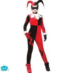 Disfraz de Harley Quinn para mujer                              …