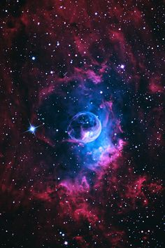 The Bubble Nebula (NGC 7635) is a emission nebula in the constellation Cassiopeia.
