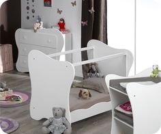 Mini Chambre bébé Iris Blanche