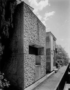 Carlo Scarpa | Tomba Galli - cemetery of Sant'Ilario, 1978 Genova  Photo by Václav Sedy
