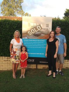 Angela Mastrapostolos with her sellers of 6 Paltara St, The Gap