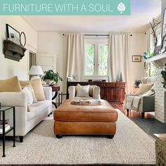 Sideboard $888 Soft, cozy neutrals 🤍 This living room looks like the perfect space to sit back & relax on a Sunday morning. 📷: @southernstyleinteriors Nadeau Furniture, Sit Back And Relax, Sunday Morning, Sideboard, Home Furnishings, Living Rooms, Your Style, Cozy, Space