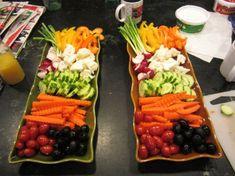 creative veggie tray | Fun With