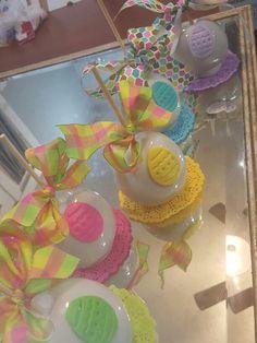 Easter candy apples, @one_skinny_baker