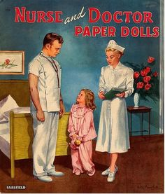 Nurse and Doctor* Let's connect at social media Twitter #QuanYin5 YouTube QuanYin5 Linked In QuanYin5 Pinterest QuanYin5 * The International Paper Doll Society by Arielle Gabriel *