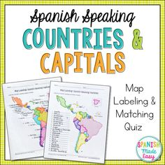 spanish speaking countries and capitals maps and quiz spanish speaking countries geography. Black Bedroom Furniture Sets. Home Design Ideas