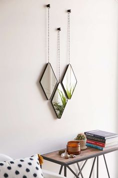I tend to not like mirrors too much, but these are very cool! Makes you look at them, instead of in them.