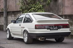 1986 toyota sprinter trueno k1 Ae86, Import Cars, Japan Cars, Jdm Cars, Toyota Corolla, Cars And Motorcycles, Cool Cars, Dream Cars, Old School