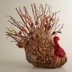 Natural Fiber Turkey $24.99