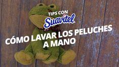 Cómo lavar peluches a mano y en seco- Suavitel Dinosaur Stuffed Animal, Diy, Hacks, Cleaning, Youtube, Random, Ideas, Teddy Bear, Home