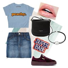 """Untitled #27"" by ssimuhina on Polyvore featuring Sandberg Furniture, Frame, Puma, Lancaster and Alex and Ani"