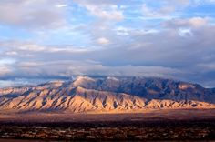Sandia Mountains Albuquerque NM | Sandia Mountain Range – Albuquerque, New Mexico. Source: