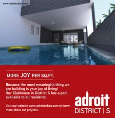 The most wasted of all days is one without laughter. Log onto www.adroiturban.com or call 044 46-000-999