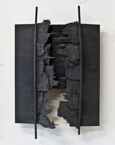Discover thousands of images about lafilleblanc: Konstantino Dregos Twitch, 2012 Art Sculpture, Abstract Sculpture, Wall Sculptures, Abstract Art, Metal Art, Wood Art, 3d Wall Art, Assemblage Art, Installation Art