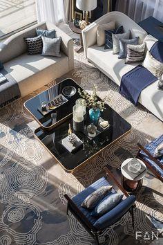 范创意设计客厅沙发