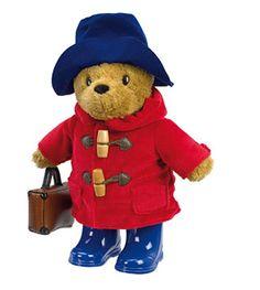 Peluche Ours Paddington avec bottes et valise