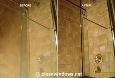 Shower Door Cleaning and Water Stain Removal Shower Door, Cleaning, Mirror, Bathroom, Water, Furniture, Home Decor, Washroom, Gripe Water