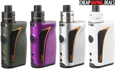 Here's a fantastic deal on the Innokin Kroma Vape System with Slipstream Tank. This bundle is affordable and available with worldwide free shipping.