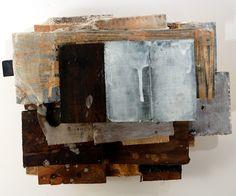 A Reinvestigation of a Double Fantasy2012Wood, Fabric, encaustic, screenprint17 x 13 x   9 Jeffrey Hirst