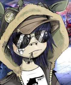 Noodle [Gorillaz] Jump with the moon and move it Jump back and forth And feel like you would dare yourself To work it out