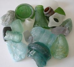 20+ FROSTY SEA GLASS! UNUSUAL RARE FINDS! BEACH FINDS! MANY COLORS!