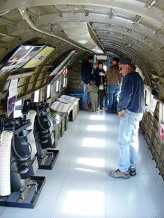 Inside the AC-47 Spooky at Aviation Nation 2008