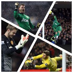 """David De Gea: """"Very proud of having played 100 Premier League matches with a club such as Manchester United."""""""