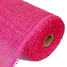 """Woven Paper Mesh Color: Fuchsia Size: 10"""" in width; 10 yards in length Material: Paper"""