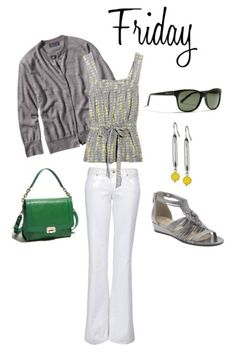 Capitol Hill Style - Capitol Hill Style - Business Casual: White Jeans