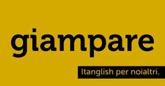 Giampare (to #jump). Come un grillo, fra una lingua e l'altra. #itanglish