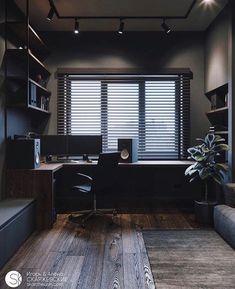 Small room design – Home Decor Interior Designs Home Studio Setup, Home Office Setup, Home Office Space, Desk Setup, Office Ideas, Small Room Design, Home Room Design, Design Homes, House Design