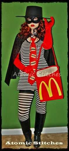 Hamburglar.  I think I know what my Halloween Costume is going to be this year...