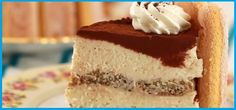 Still looking for the perfect dessert to cap off Valentine's Day and share with your sweetheart? Well, look no further! We've found the perfect one, and it combines two of the most decadent and romantic desserts out there: cheesecake and tiramisu! Tiramisu Cheesecake, Cheesecake Recipes, Tiphero Recipes, Gourmet Recipes, Dessert Recipes, Gourmet Foods, Dessert Ideas, Romantic Desserts, Strawberry Pie