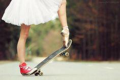 skater ballerina