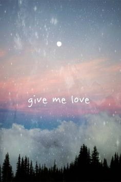 give me love - Ed Sheeran