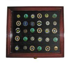 ff1b6238817 Golf Marker Magnet Display Cabinet - GreatGolfMemories.com