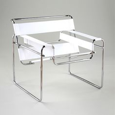 Wassily by Marcel Breuer. I've always loved this chair, hopefully I'll own it one day. qb