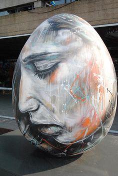 Urban art by David Walker