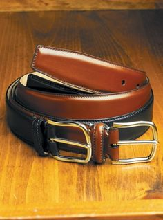 English Bridle Belts