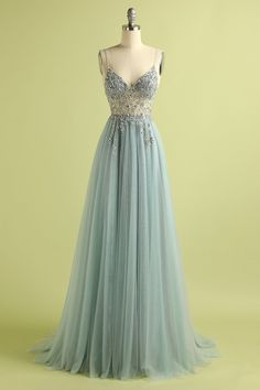 Looking for prom dresses for your prom night? BMbridal is right place to custom made you chiffon beading prom dresses with appliques as you wish, free customizing, no extra cost. Pretty Prom Dresses, Tulle Prom Dress, Grad Dresses, Ball Dresses, Cute Dresses, Beautiful Dresses, Ball Gowns, Evening Dresses, Formal Dresses
