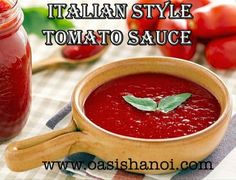 The Oasis Hanoi Hanoi, Italian Style, Tomato Sauce, Grocery Store, Oasis, Recipes, Food, Rezepte, Essen
