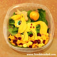 Week 9: My Little Pony: Applejack. Fun and Easy lunch for #backtoschool from Lunchboxdad.com!