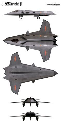 Chinese sixth generation fighter concept.