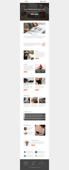 Design editable responsive html email template email campaign design editable responsive html email template email newsletter templatesemail newslettersresponsive emailcorporate businesswordpress spiritdancerdesigns Gallery