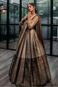 Half Saree Lehenga, Lehenga Saree Design, Saree Dress, Bridal Lehenga, Dress Skirt, Indian Gowns Dresses, Indian Fashion Dresses, Indian Designer Outfits, Indian Bridal Outfits