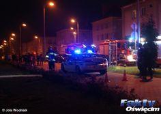 Ratowali życie na czworakach #Oświęcim #Olszewskiego #pożar #dym #policjanci #policja #ratunek