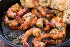 Garlic Shrimp recipe from PBS Food