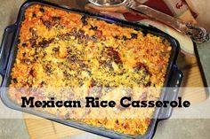 Mexican Chicken Rice Casserole