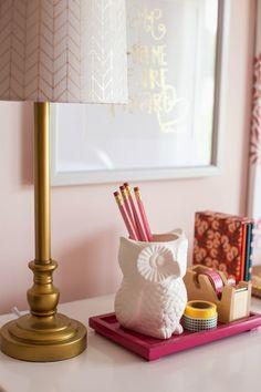 Darling Darleen: Tween Girl Pink + Coral Bedroom